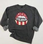 Arkansas Lips Sweatshirt
