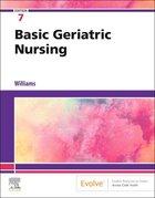 Basic Geriatric Nursing 7th edt.